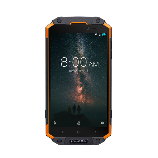 POPTEL P9000 MAX 5.5 Inch Smart Phone_Orange