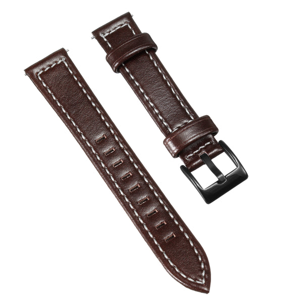 Replacement 18mm Leather Wrist Watch Band Strap For Nokia Steel HR