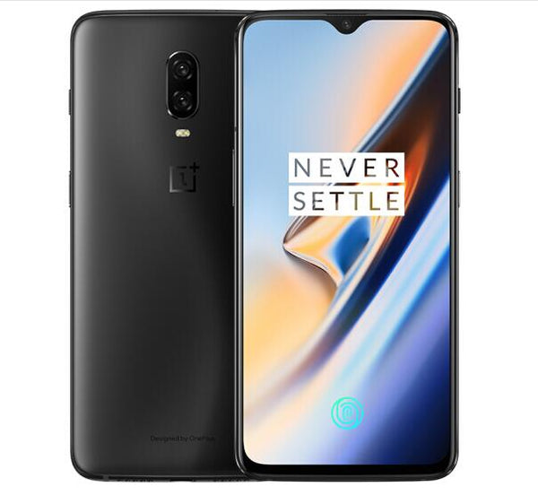 OnePlus 6T 4G Phablet 6.41 inch Andriod 9.0 Snapdragon 845 Octa Core 8GB RAM 128GB ROM -  Midnight black, Recovery CA Edition