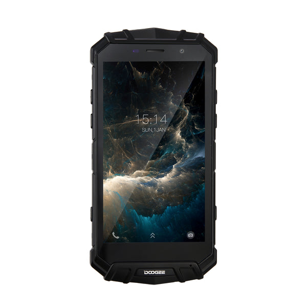 DOOGEE S60 5.2 Inch Octa Core 6 + 64 GB Smart Phone-Black