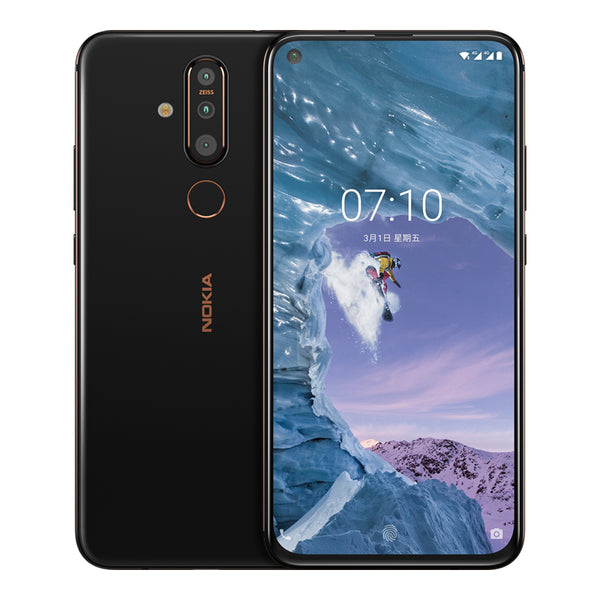 NOKIA X71 Smartphone 6.39 inches 6 GB+128 GB 3500 mAh Battery Zeiss 3 Rear Cameras Mobile Phone Chinese OTA Version