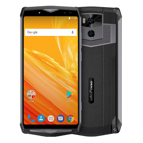 Ulefone Power 5 Android Phone - Octa-Core CPU, Android 8.1, 6GB RAM, Dual-IMEI, 13000mAh, 6-Inch FHD Display