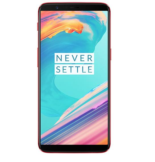 Oneplus 5T NFC Smartphone - 8GB RAM 128GB ROM, 6.01 Inch, 4G Android 7.1.1, Snapdragon 835 Octa Core, 3300mAh - Red