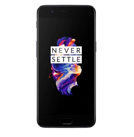 Oneplus 5T Smartphone - 8GB RAM 128GB ROM, 6.01 Inch, 4G Android 7.1.1, Snapdragon 835 NFC - Black