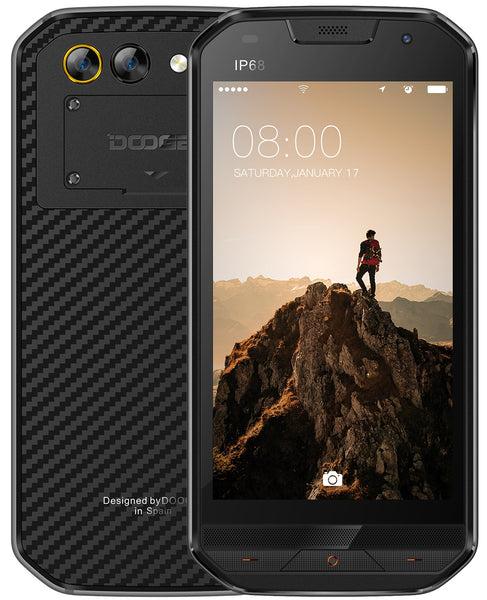 DOOGEE S30 5.0 Inch IP68 Waterproof Smart Phone Black