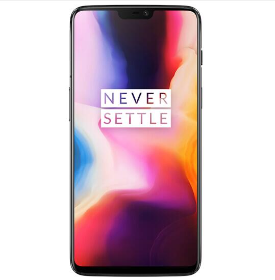 Oneplus 6 4G LTE 8GB +256GB 6.28 Inch Snapdragon 845 Octa Core Android 8.1 NFC Smartphone - Mercury Black, EU PLUG
