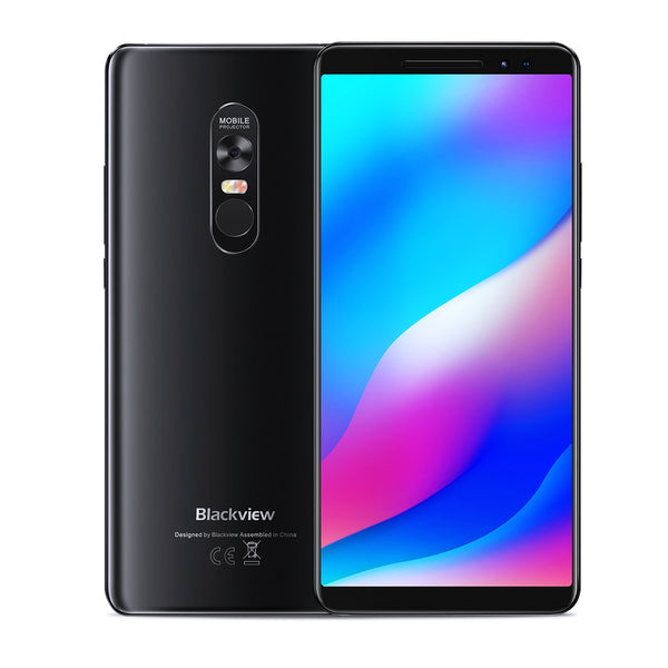Blackview MAX 1 Projector Phone - 6.01 Inch, 6GB RAM 64GB ROM, 4680mAh, Android 8.1, MTK6763T Octa Core