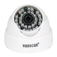 WANSCAM HW0031 1.0MP HD 720P IP WIFI Dome Security Camera Infrared Night Vision Safe Camera