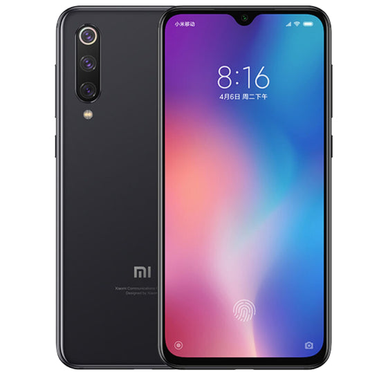 Xiaomi Mi 9 Chinese OTA Version 8GB RAM 128GB ROM Mobile Phone Snapdragon 855 Octa Core 6.39 Inch Full Screen Smartphone Black