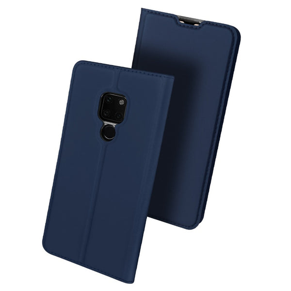 DUX DUCIS Shockproof Flip PU Leather Card Slot Full Cover Protective Case for Huawei Mate 20