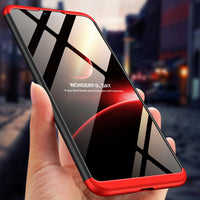 Bakeey 3 in 1 Double Dip Hard PC 360 Full Protective Case For Xiaomi Mi8 Mi 8 Lite 6.26 inch