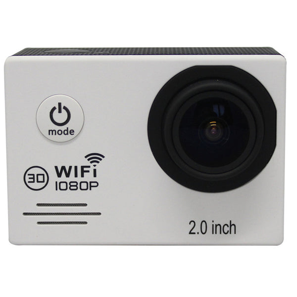 SJ7000 Action Camera Full HD 1080P 30FPS Gopro Wifi Waterproof 30m Diving Outdoor Sport Camera White