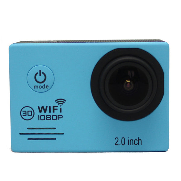 SJ7000 Action Camera Full HD 1080P 30FPS Gopro Wifi Waterproof 30m Diving Outdoor Sport Camera Blue