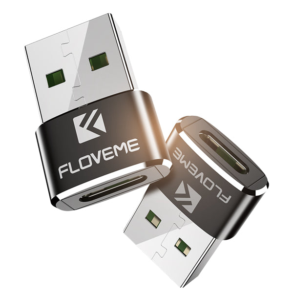 FLOVEME USB Male to Type C Female OTG Adapter Converter For Oneplus 5t Xiaomi 6 Mi A1 Note 3 Nubia