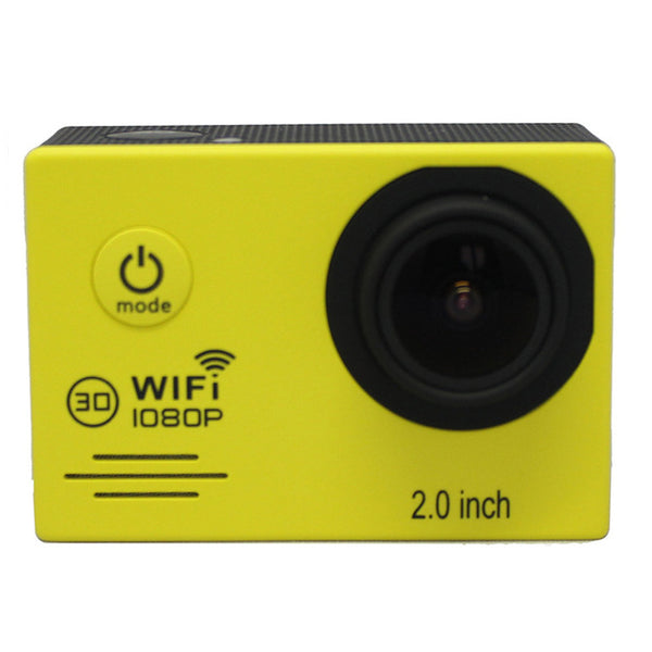 SJ7000 Action Camera Full HD 1080P 30FPS Gopro Wifi Waterproof 30m Diving Outdoor Sport Camera Yellow