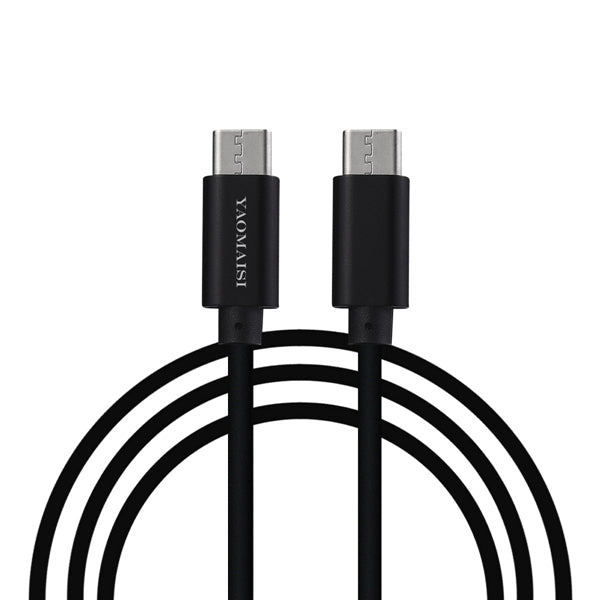 YAOMAISI Type C To Type C Fast Data Sync Charging Cable 1m For OnePlus 5 Xiaomi Mi6 Mix 2 Note 8