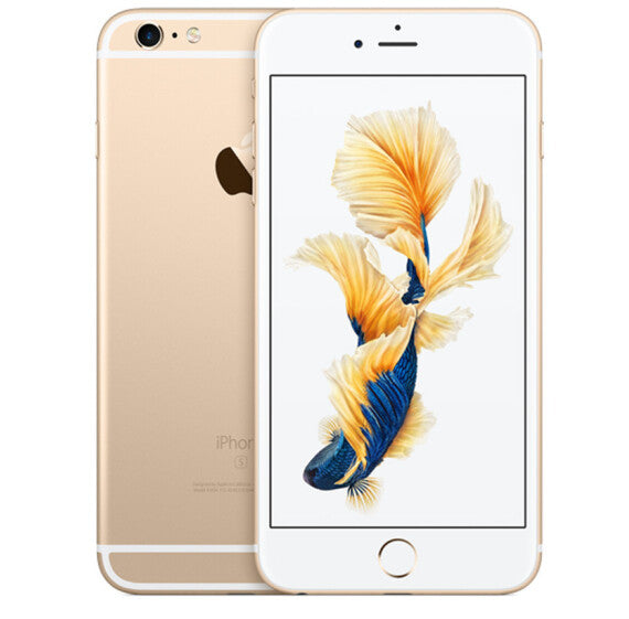 Refurbished Apple iPhone 6 Plus - Gold, 1GB RAM, 64GB ROM, 5.5 Inch, UK-Plug