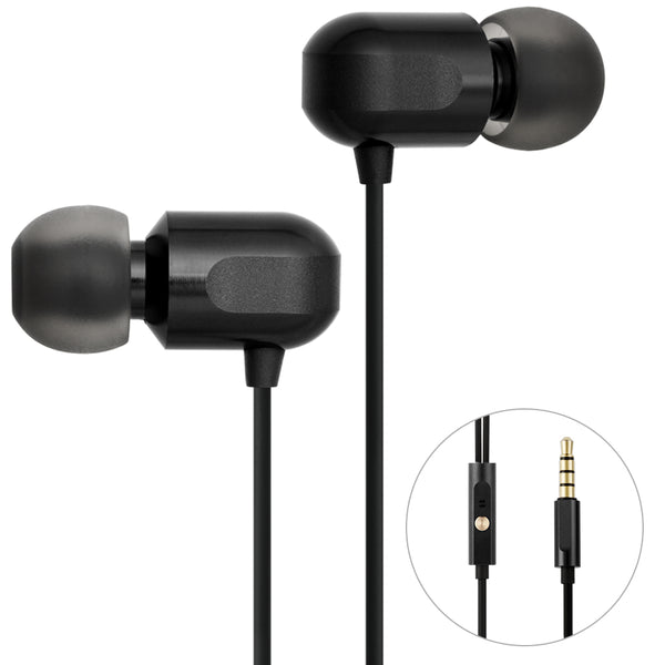 GGMM Fashion Metal In-ear Earphones Stereo Noise Cancelling Headset