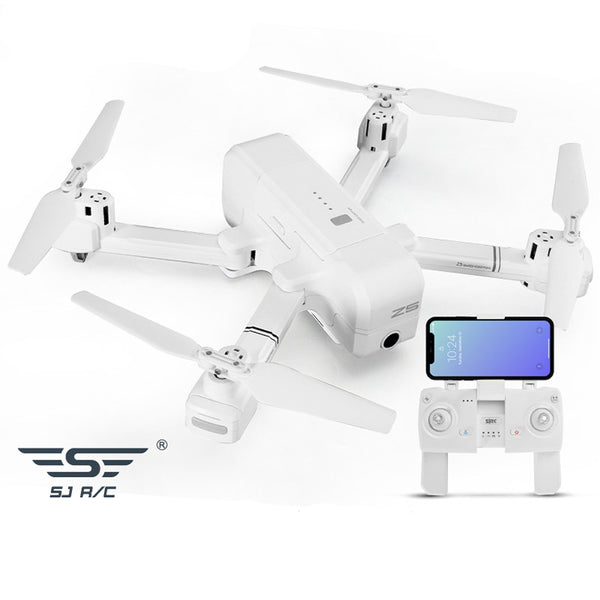 SJRC Z5 5G Wifi FPV With 1080P Camera Double GPS Dynamic Follow RC Drone Quadcopter White
