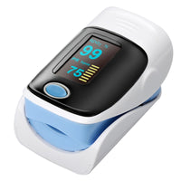 Fingertip Pulse Oximeter - 1.2 Inch OLED Display, Auto Power off, Low Voltage Display