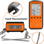 Black Wireless Remote Food Thermometer -50~300°C