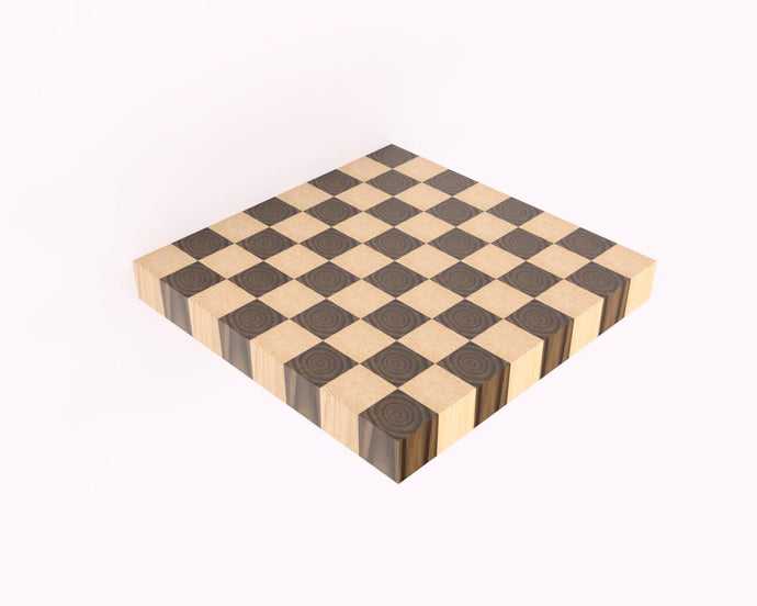 True Checkerboard End Grain Cutting Board