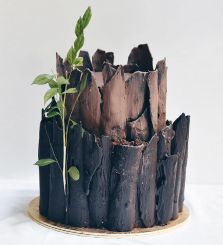 Zee & Elle Tree Trunk Cake