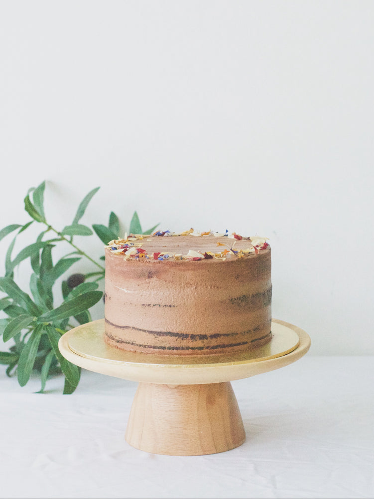 Vegan Double Chocolate Cake (Vegan)