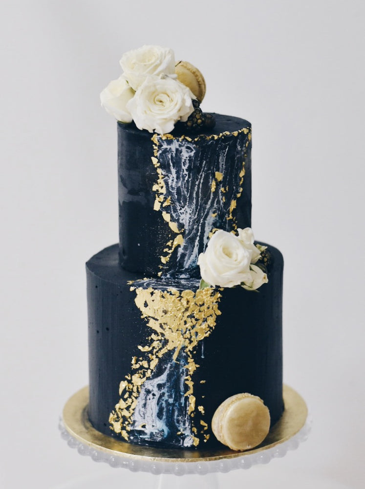 Customised online Black Marble Cascade - Cakes. Sweets. Dessert Bars- Zee & Elle