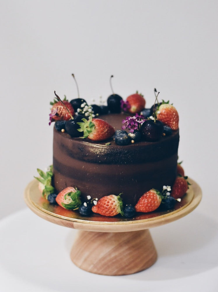 Chocolate Berries Overload Cake - Cakes. Sweets. Dessert Bars- Zee & Elle