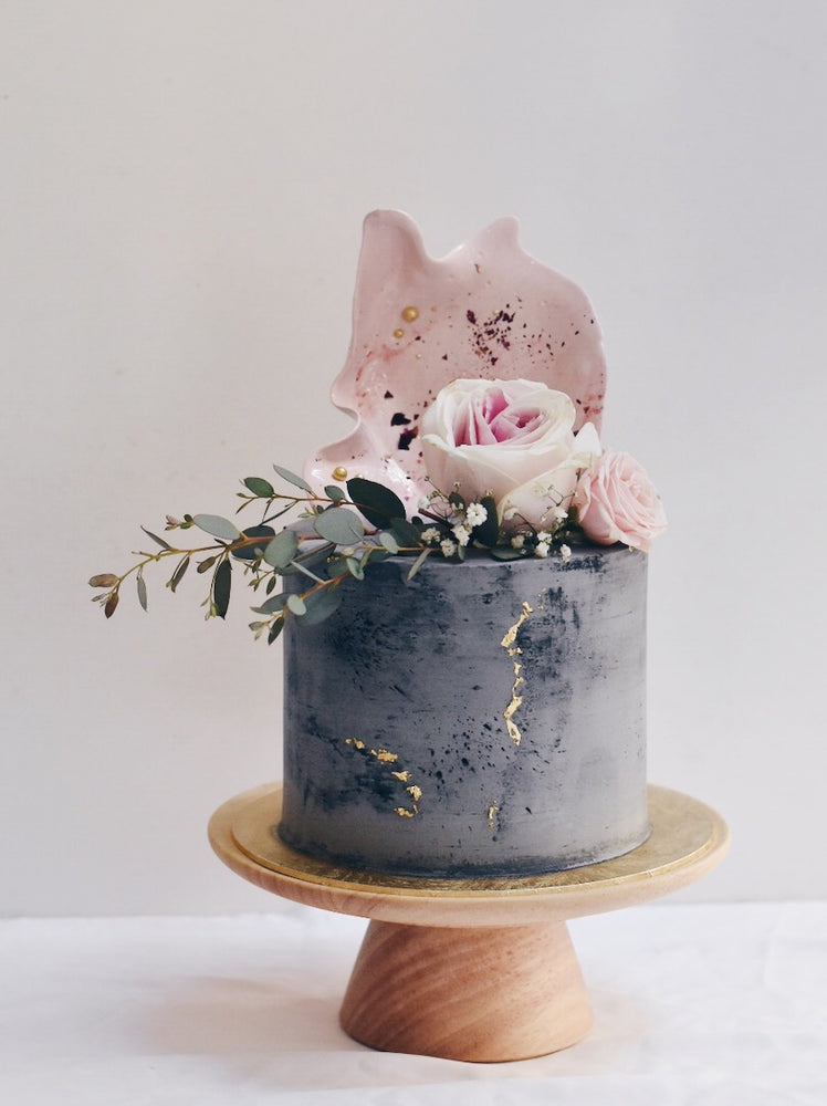 Concrete Nude Pink Cake - Cakes. Sweets. Dessert Bars- Zee & Elle
