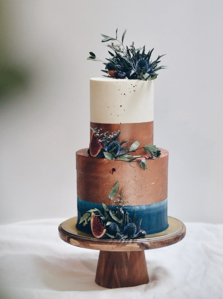 Copper Navy Cake