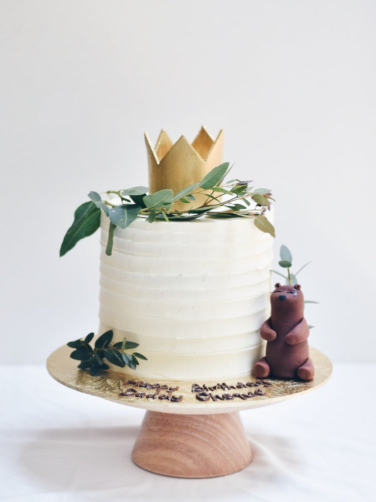 Crown Bear Cake