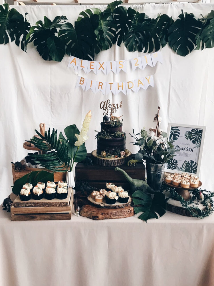 Dinosaur Rustic Petite Dessert Table (For 20-30 pax)