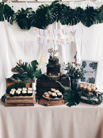 Customised Online Dinosaur Themed Dessert Table - Cakes. Sweets. Dessert Bars- Zee & Elle