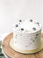 Earl Grey Lemon Lavender Cake