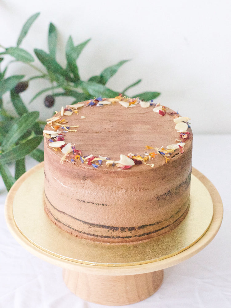 Vegan Double O Chocolate Cake - Cakes. Sweets. Dessert Bars- Zee & Elle