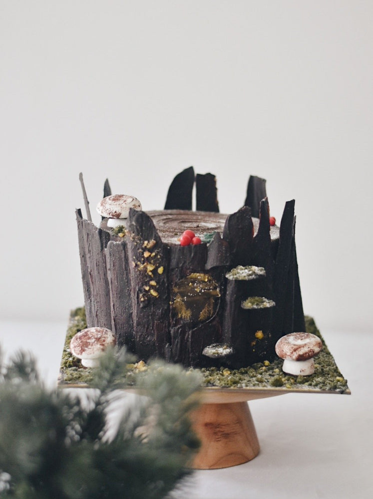 Forest Christmas Cake