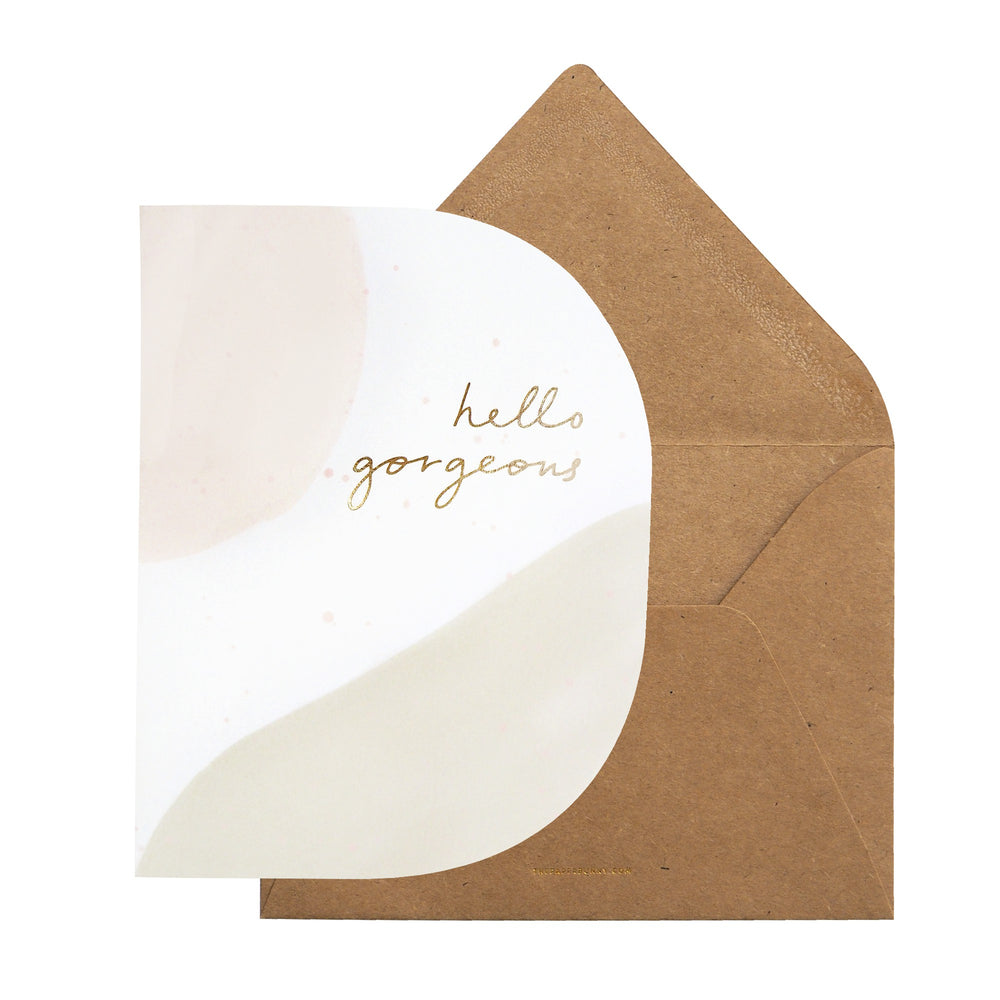 Hello Gorgeous Card | Cakes, Sweets, Dessert Bars - Zee & Elle