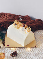 Honey Yuzu Log Cake
