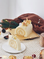 Honey Yuzu Log Cake | Zee & Elle Singapore