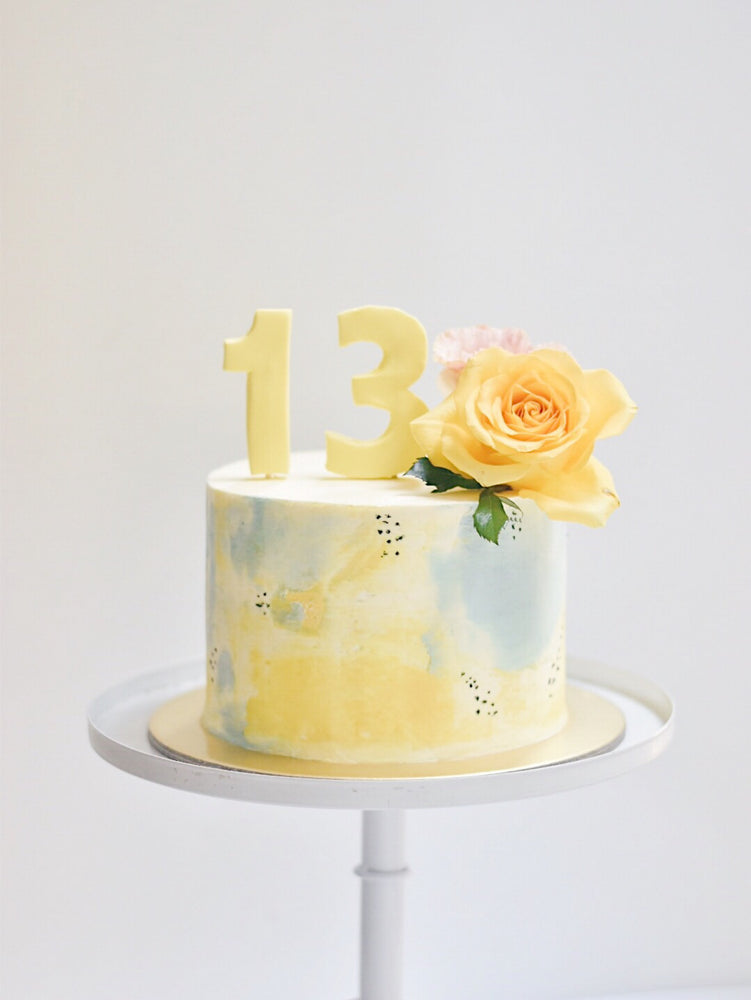 Fondant Big Numbers (Non-Metallic)