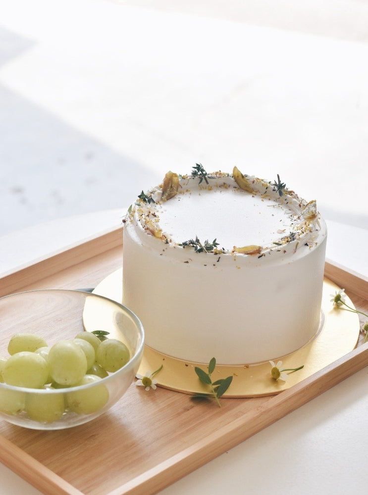 Jasmine Grape Fresh Cream Cake