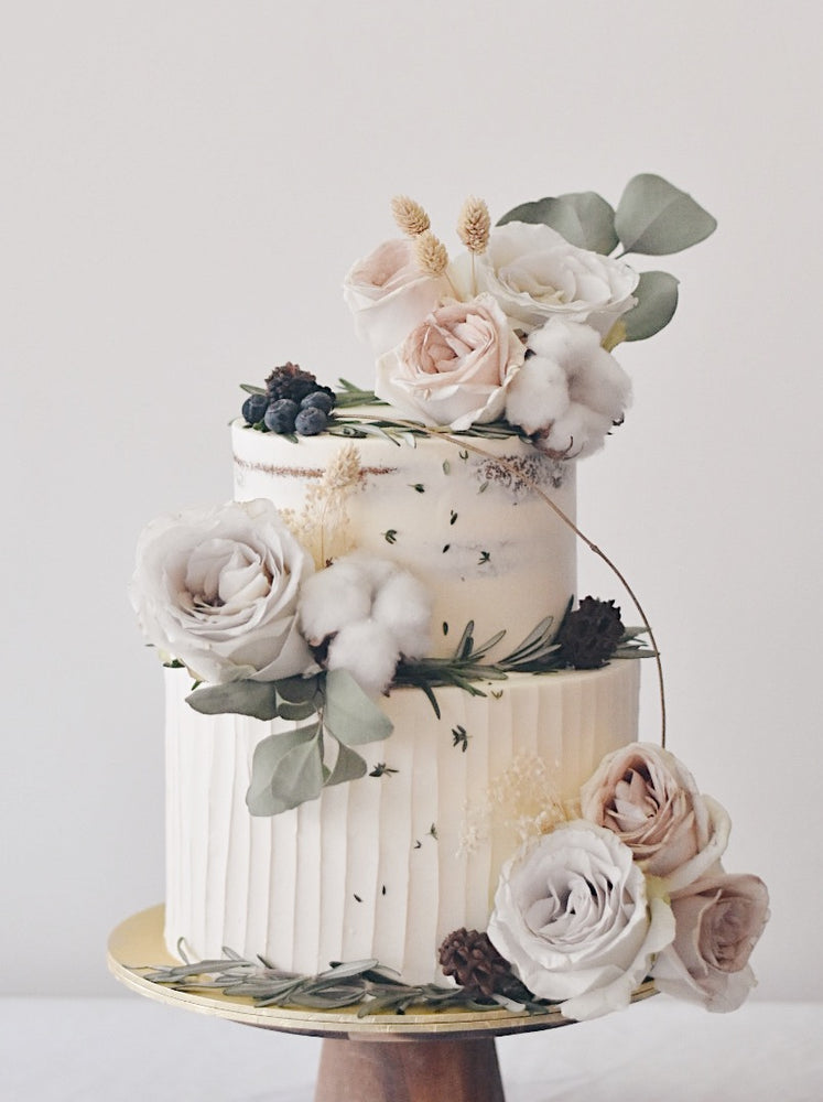 Muted Pastels Enchanted Cake