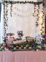 Enchanted Floral Petite Dessert Table (For 20-30 pax)