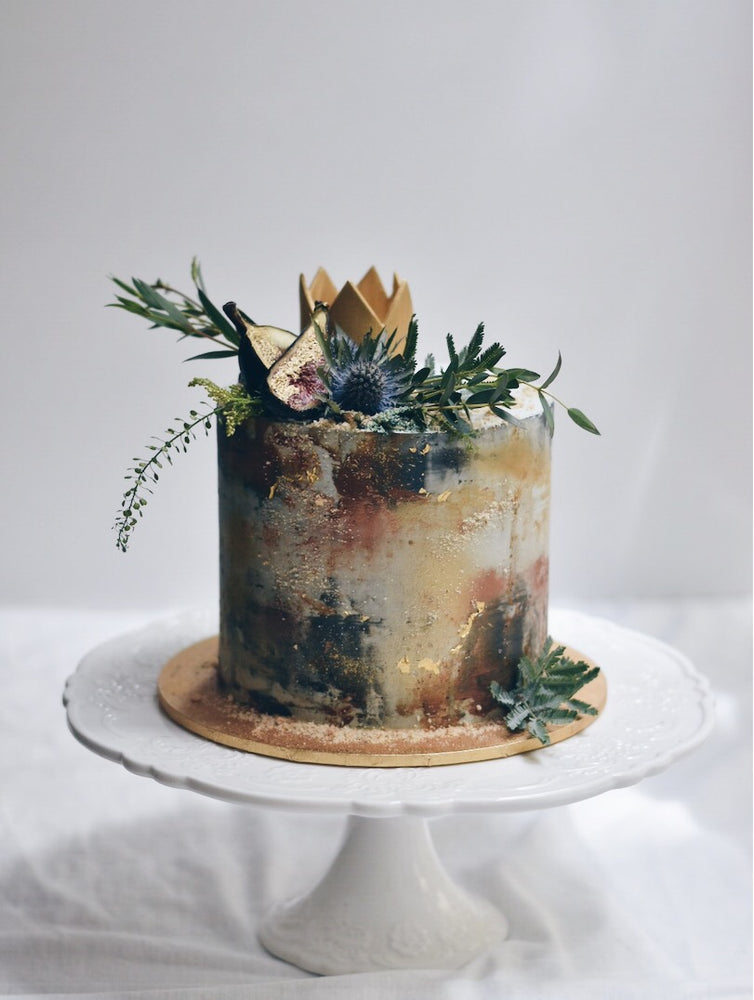 Customised Online Rustic Crown Birthday Cake - Cakes. Sweets. Dessert Bars- Zee & Elle