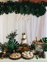 Rustic Forest Petite Dessert Table (For 20-30 pax)