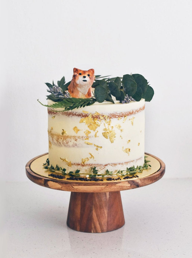 Shiba In The Woods Cake | Zee & Elle Singapore