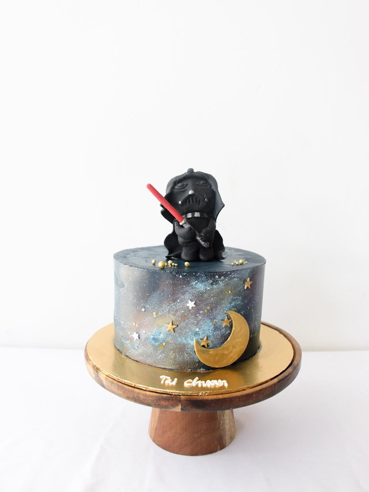 Star Wars Galaxy Cake Singapore - Zee & Elle