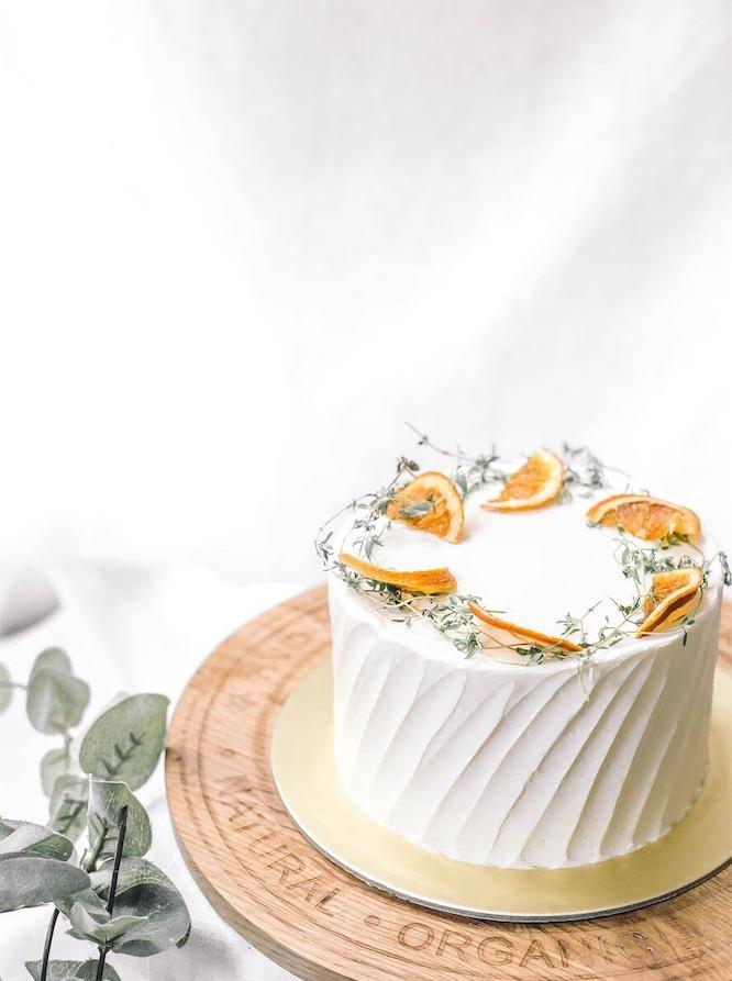 Vanilla Lemon Citrus Cake